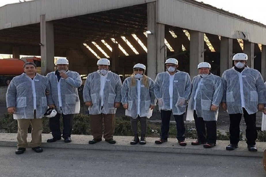 ÇAKAB Heyeti İSTAÇ Şile Kömürcüoda Düzenli Depolama Tesisi'nde