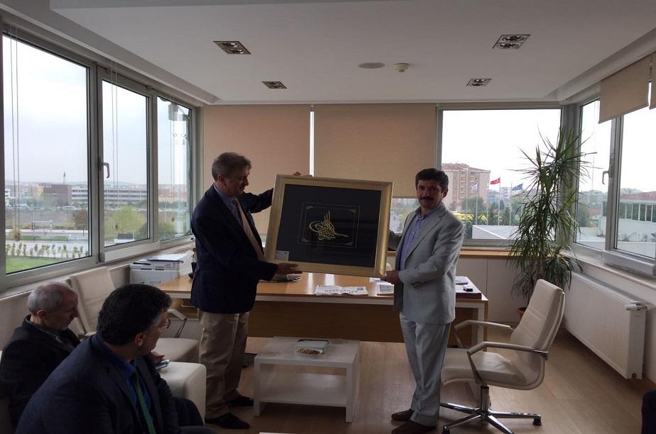 Genel Müdürümüz UGETAM'ı ziyaret etti
