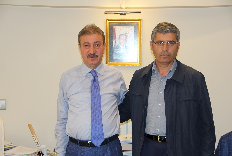 Suşehri Belediye Başkanı Fazıl Yüksel'i şirketimizde ağırladık