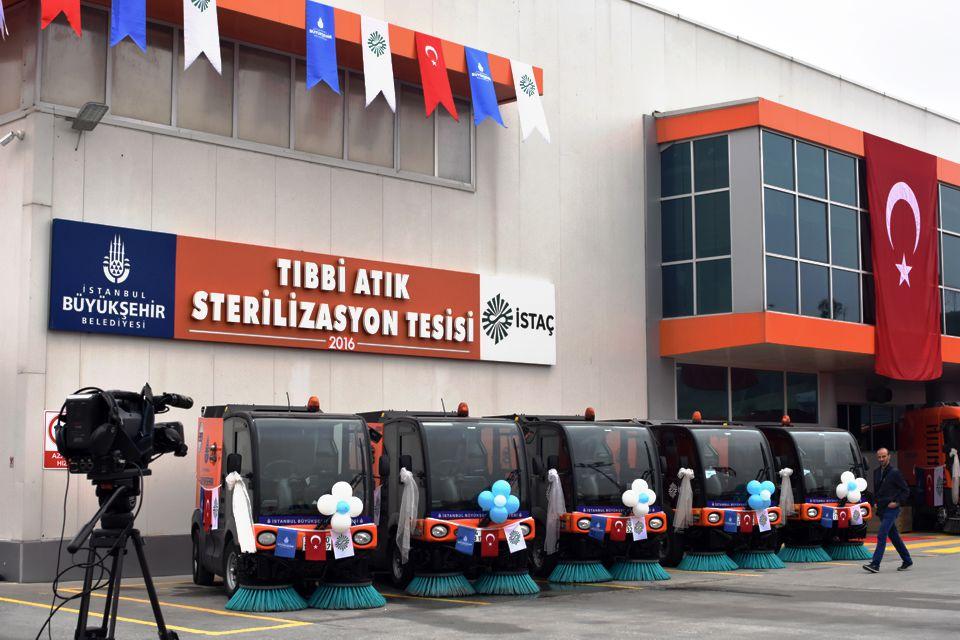 Avrupa'nın En Büyük Tıbbi Atık Sterilizasyon Tesisi Hizmete Açıldı