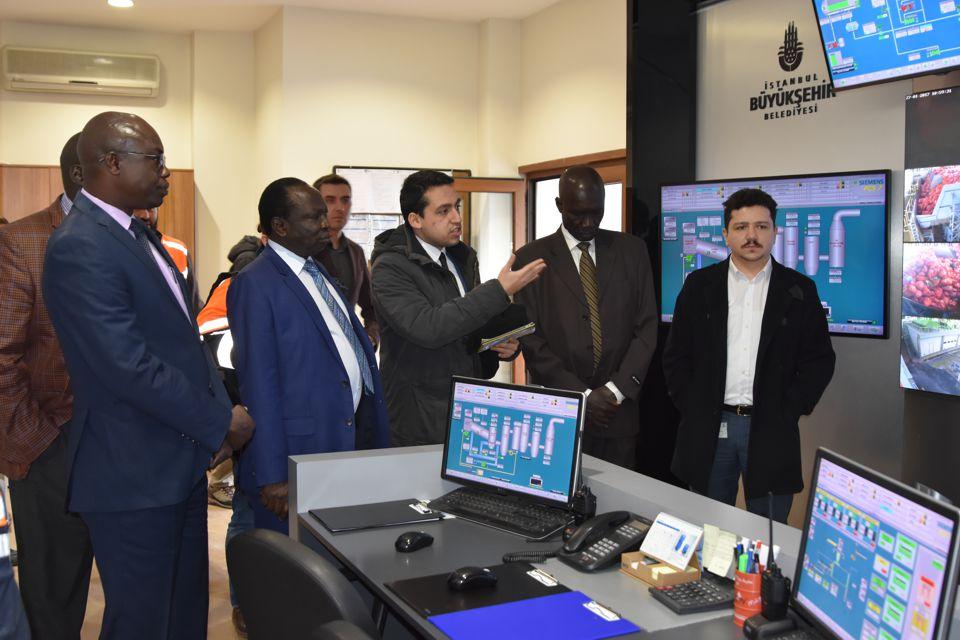 Güney Sudan Heyetinden İSTAÇ'a ziyaret
