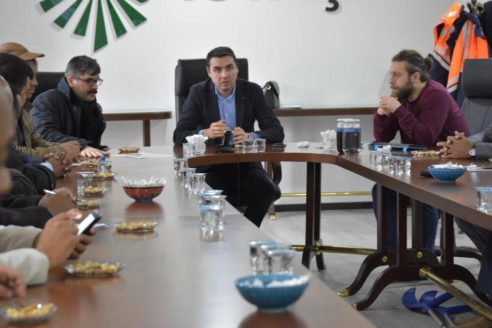 Libyalı Belediye Başkanlarından İstaç'a Övgü...