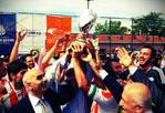 İBB Futbol Turnuvası'nın şampiyonu İSTAÇ A.Ş.