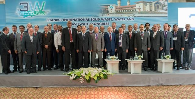 ISTANBUL3WCONGRESS 2013 İstanbul Uluslararası Katı Atık, Su ve Atıksu Kongresi Gerçekleştirildi