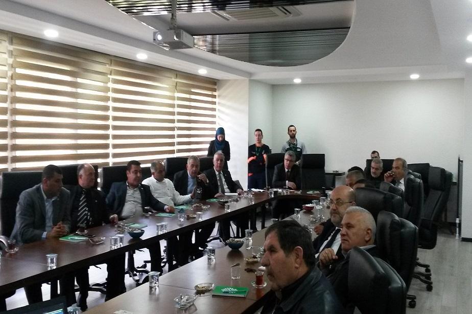 Lübnan Dannieh bölgesi belediyeler birliğinden İSTAÇ'a ziyaret