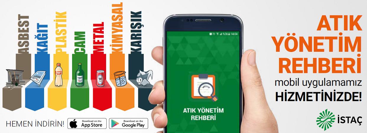 """""""Atık Yönetim Rehberi"""" mobil uygulaması yayında"""