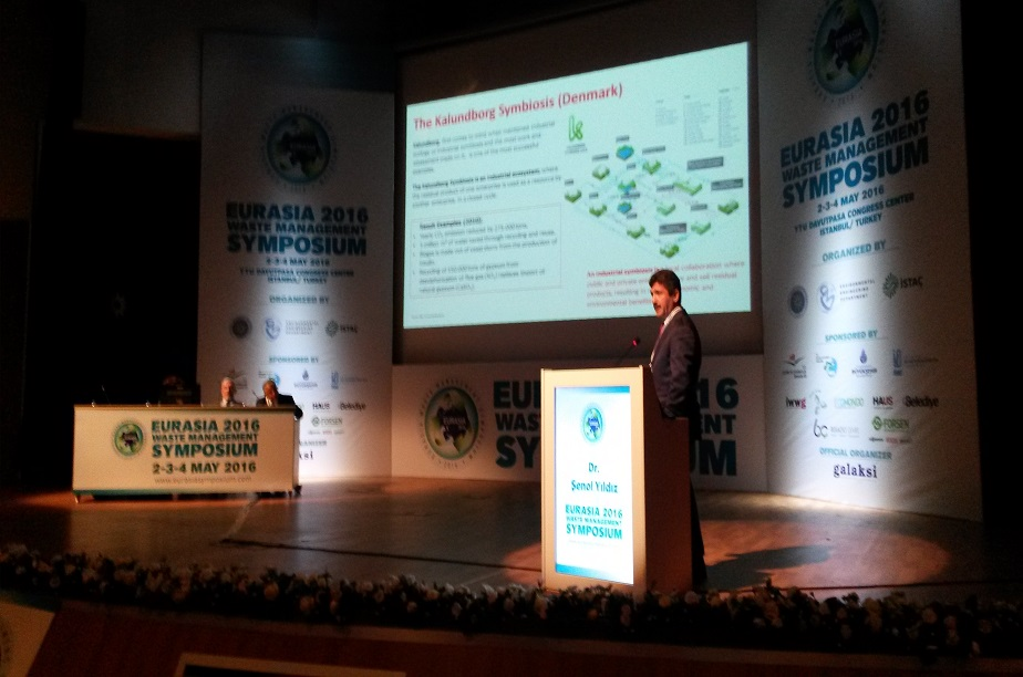 Eurasia Waste Management 2016 2-4 Mayıs'ta Y.T.Ü'de düzenlendi