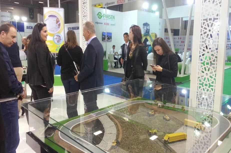 Avrasya'nın lider çevre teknolojileri fuarı  Fuarı REW İstanbul 2016,Kapılarını Açtı