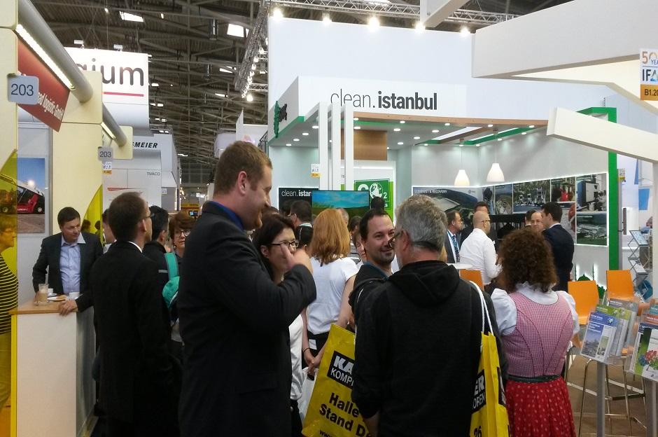 İSTAÇ, Münih IFAT 2016'da