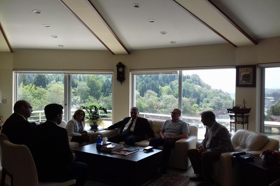 Gaziantep Belediye Başkanı Fatma Şahin'i ağırladık