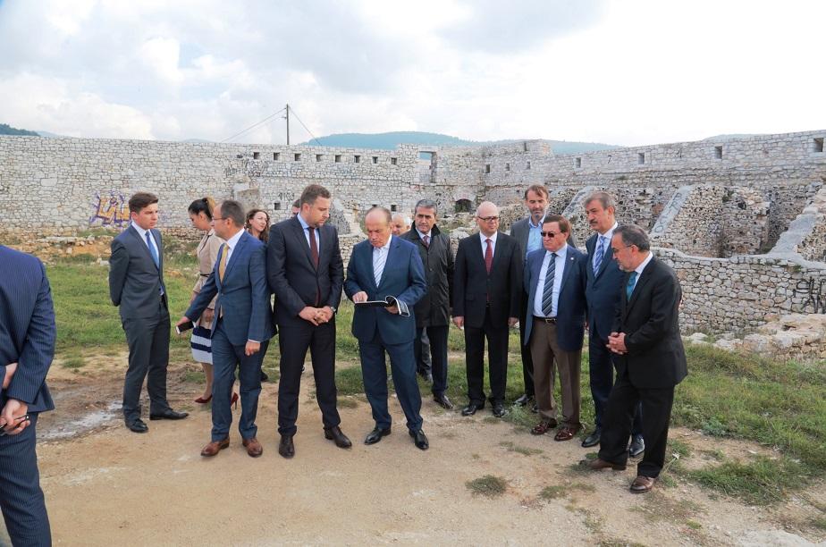 İBB Başkanı Kadir Topbaş Saraybosna'yı ziyaret etti