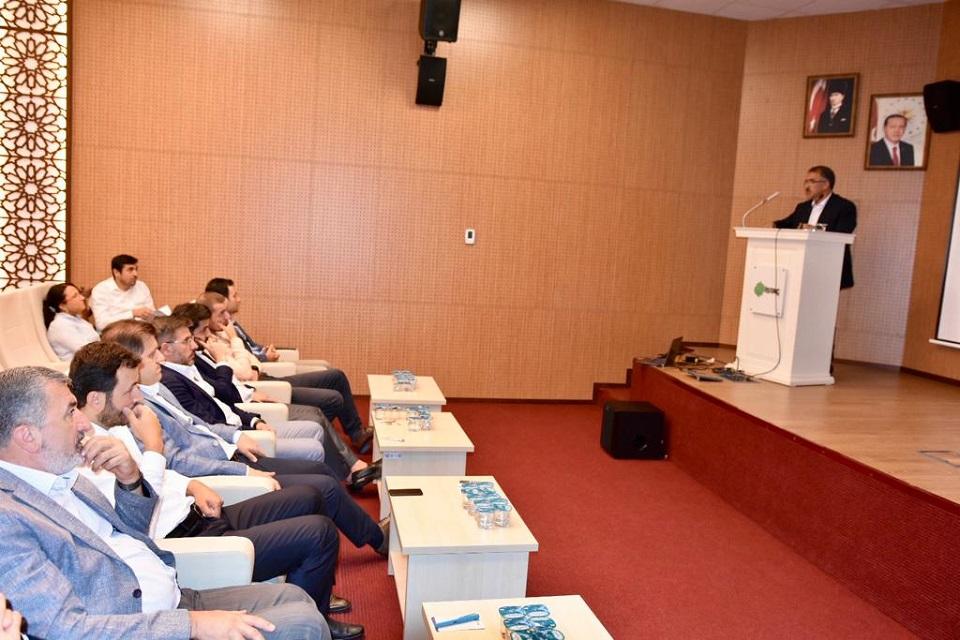 İSTAÇ Koordinasyon toplantısı Genel Müdürlük Konferans Salonunda gerçekleşti