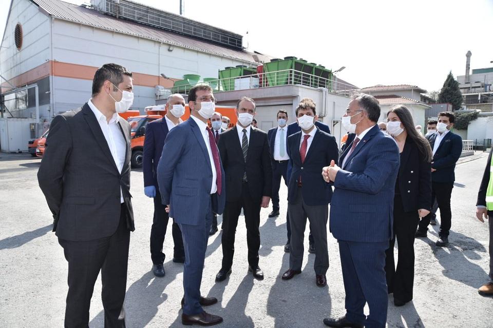 İBB Başkanımız Ekrem İmamoğlu Tıbbi Atık Bertaraf çalışmalarını yakından inceledi