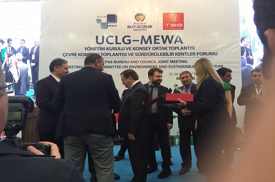 Sürdürülebilir Kentler Forumu Malatya'da Gerçekleştirildi.