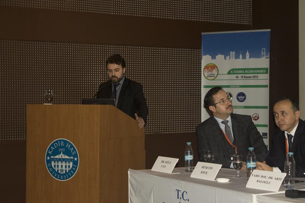 """Akıllı Şehirler"""" temalı IX. İstanbul Bilişim Kongresi'ne katıldık."""
